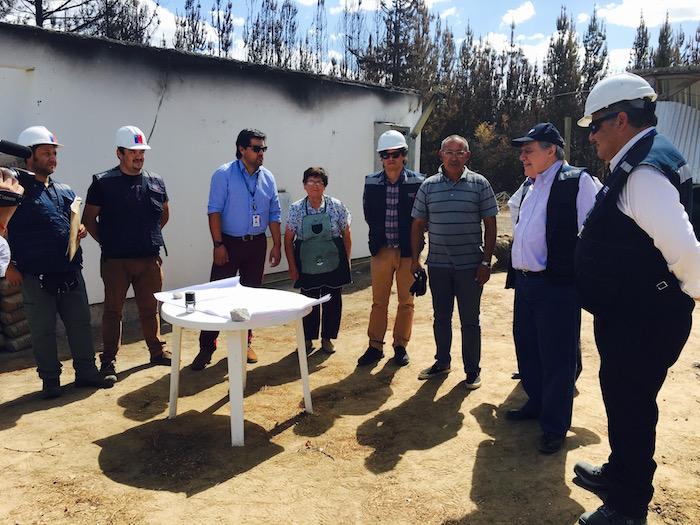 Comienza construcción de primeras viviendas definitivas en el Mau
