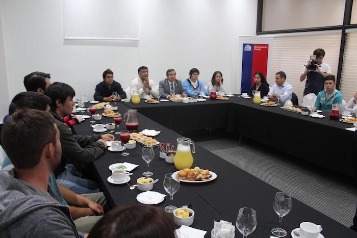 Estudiantes de educación superior beneficiados con la gratuidad dialogaron con autoridades