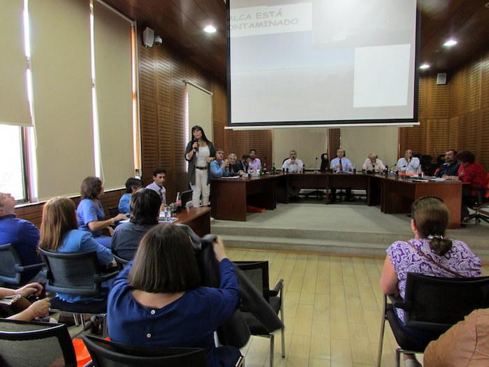 Seremi del Medio solicita a Concejo Municipal de Talca mayor compromiso con medidas del plan de descontaminación