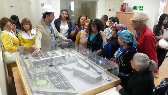 Se iniciaron las visitas guiadas a la construcción del futuro Hospital de Curicó