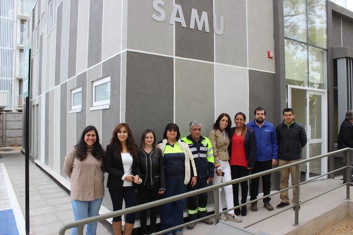 Concluyen obras físicas de nuevo Centro Regulador SAMU Maule