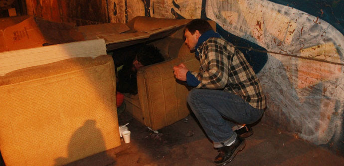 Personas en Situación de Calle serán censadas por primera vez en todo Chile