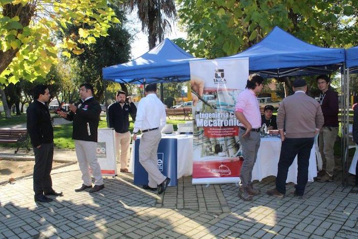 Universidad de Talca participó en Feria de Energía en Pelarco