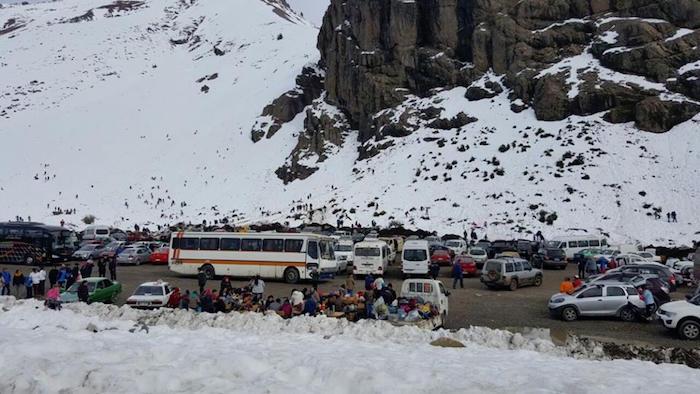 Gobernación coordina temporada invernal en Ruta Internacional