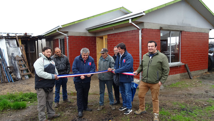 Reconstrucción en sectores rurales ha entregado obras definitivas a 117 familias en la región del Maule