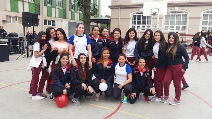 Liceo Marta Donoso Espejo fue sede del lanzamiento del Plan Nacional de Actividad Física y deportiva 2016-2025