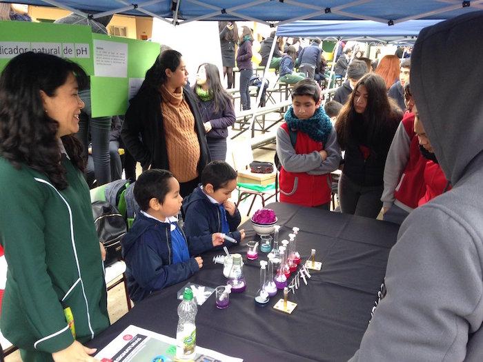 Maule Labs reúne a la ciencia escolar de la región