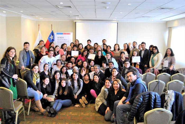 Representantes de organizaciones comunitarias de la región del Maule se forman como agentes preventivos