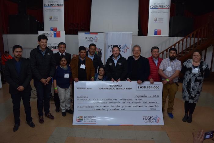 FOSIS capacita a más de 600 maulinos en situación de discapacidad para crear su propio emprendimiento