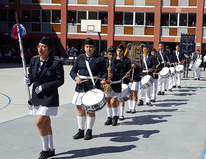 Exitoso Primer Encuentro de Bandas Instrumentales de estudiantes realizado en Talca