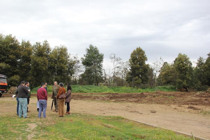 La JUNJI recibe terreno para la construcción de histórico jardín infantil en la Universidad de Talca