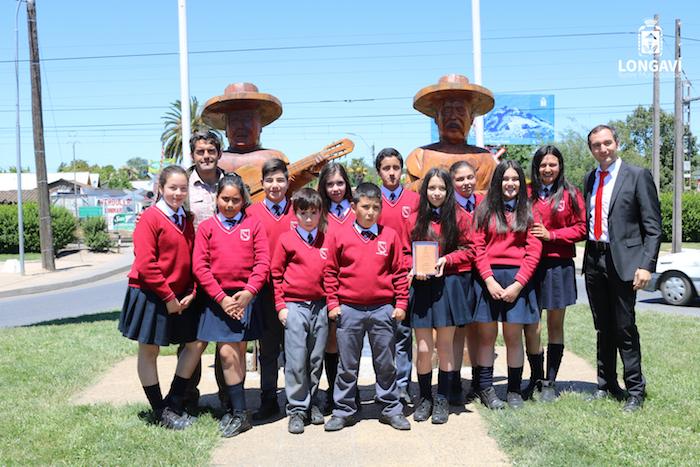 Estudiantes Longavianos ganan concurso de cortometrajes