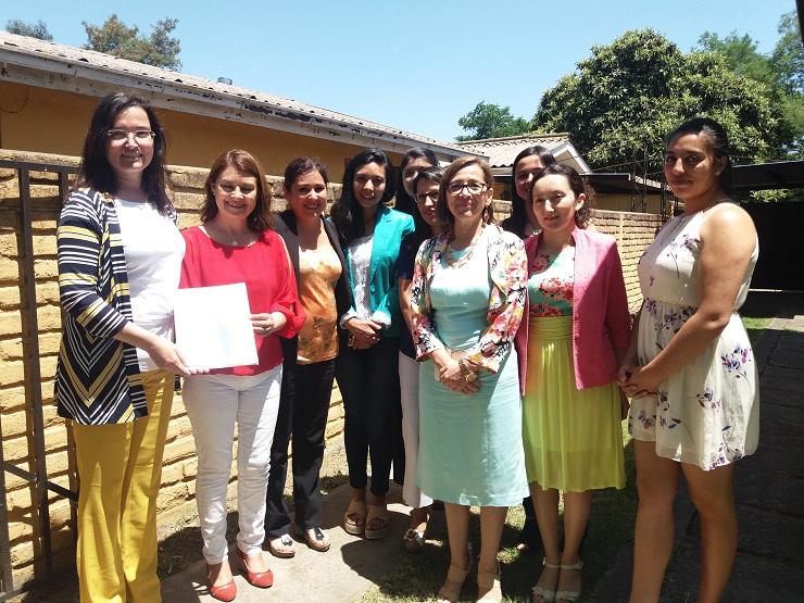 Ministra de Bienes Nacionales entregó inmueble para para atender a mujeres que sufren violencia