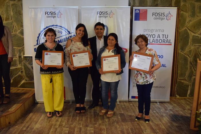 FOSIS fortalece distintos emprendimientos y facilita la inserción laboral en las provincias de Talca y Curicó
