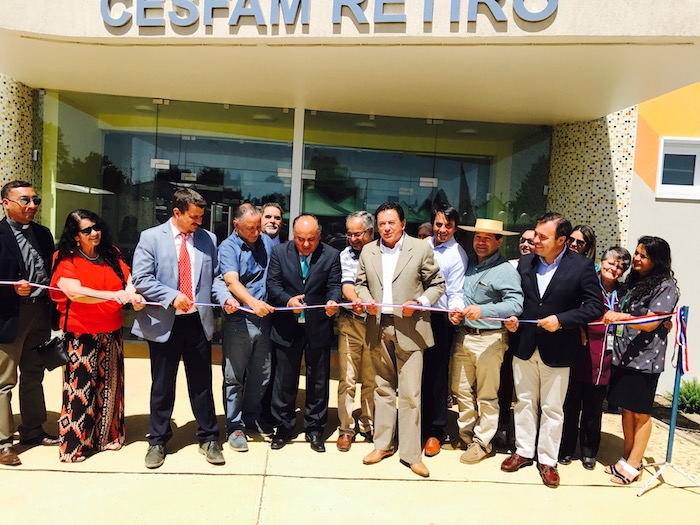 Consejo Regional inaugura CESFAM de Retiro que beneficiará a más de 12 mil usuarios