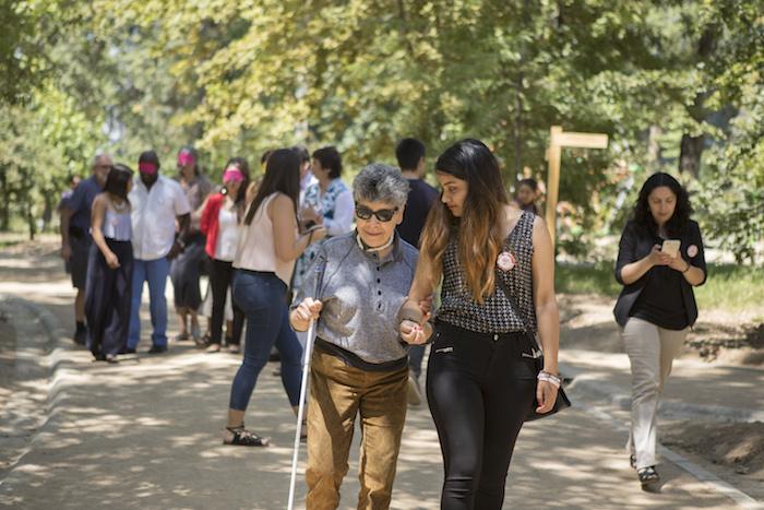 Culminó proyecto para inclusión de personas ciegas en actividades turísticas