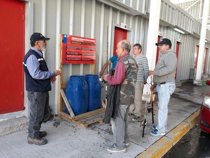Sernapesca del Maule realiza fiscalización de pesca recreativa en paso fronterizo Pehuenche