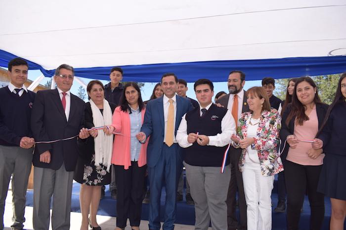 Cerca de 200 millones de pesos en infraestructura se invirtieron en las nuevas dependencias del Primer Liceo Técnico Agropecuario de Curicó