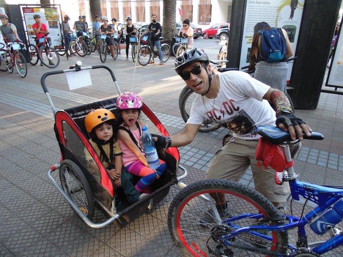 Con masiva paticipación se realizó la tradicional Cicletada de Primer Martes de cada mes en Curicó