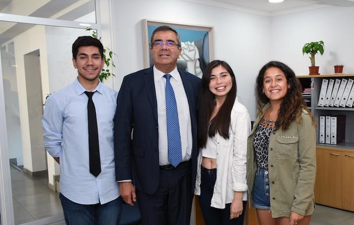 Federación de Estudiantes y Rectoría de la Universidad de Talca acuerdan plan de trabajo en común