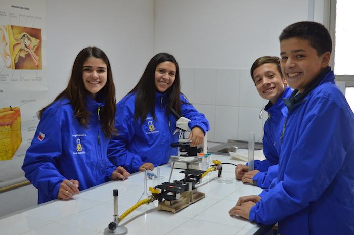 Alumnos del Instituto Andrés Bello de Talca representarán a Chile en feria de ciencia en Bélgica