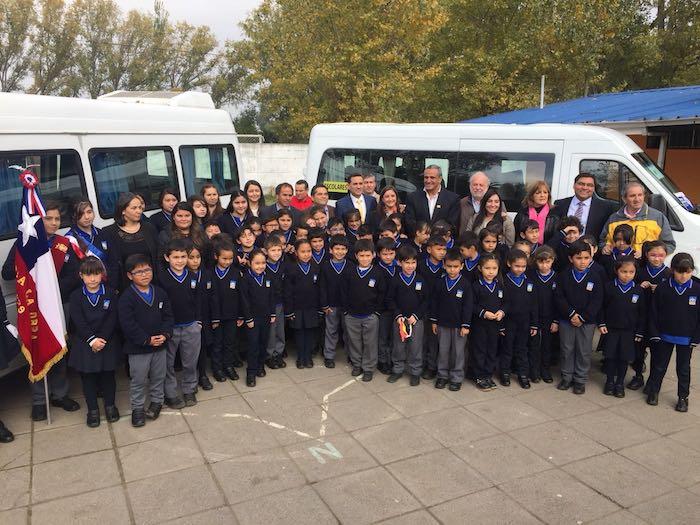 Transporte Escolar Subsidiado beneficia a más de 300 niños en la Comuna de Curicó