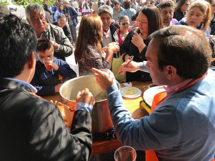 En el CREA de Talca se celebró el Día de la Cocina Chilena