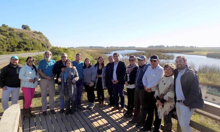 Seremi del Medio Ambiente sostiene primera reunión con ADEMA y visita Santuario de la Naturaleza Humedales de Putú