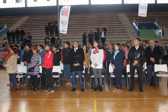 MINDEP-IND Región de Maule lanzaron oficialmente los Juegos Deportivos Escolares 2018