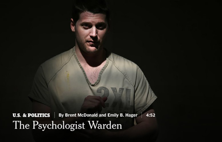 still photo from the Psychologist Ward New York Times video