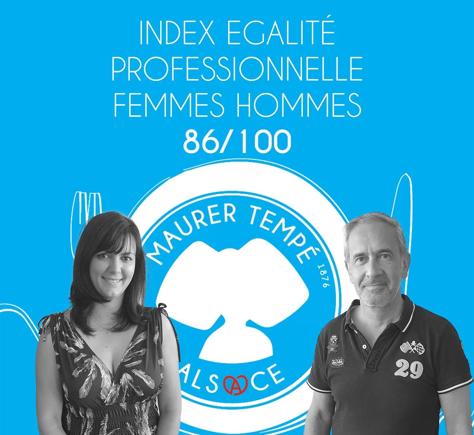 Index égalité professionnelle Femmes Hommes 2020