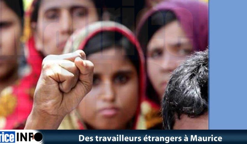 Des travailleurs étrangers à Maurice