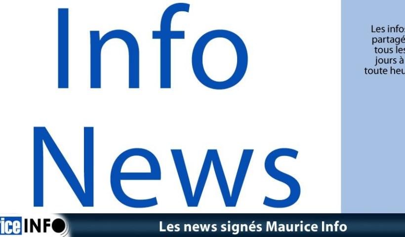 Info News de Maurice Info