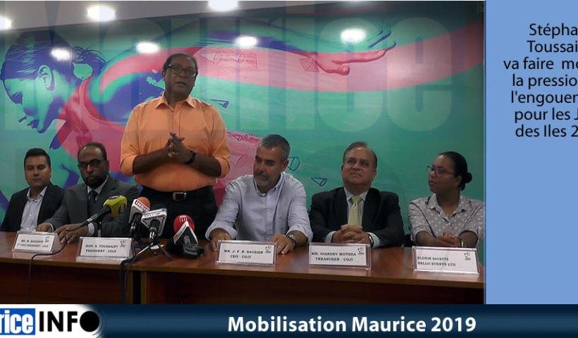 Mobilisation Maurice 2019