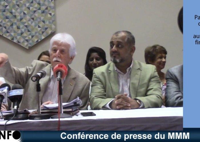 Conférence de presse du MMM du 16 février 2019