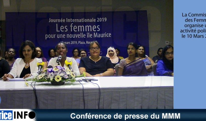 Conférence de presse du MMM du 20 Février 2019