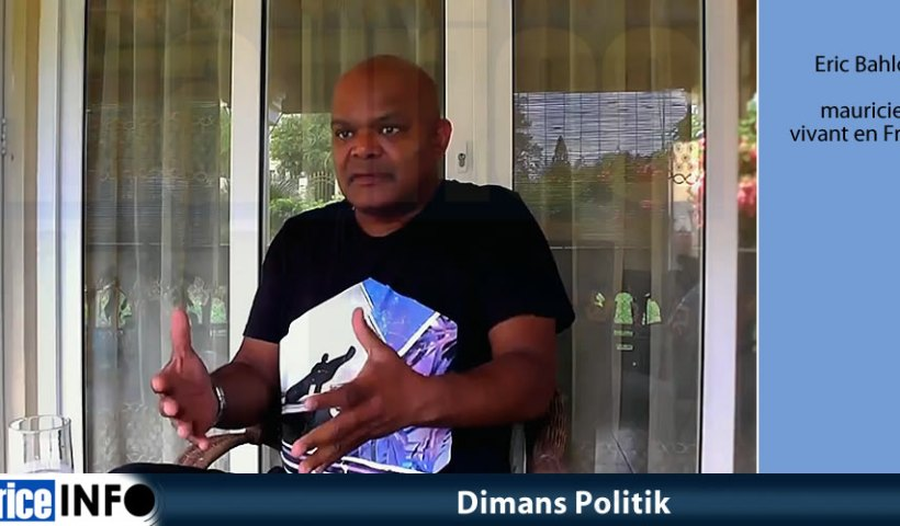 Dimans Politik - Eric Bahloo