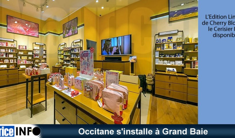 Occitane s'installe à Grand Baie