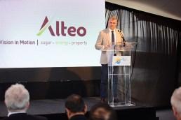 Arnaud Lagesse Chairman d'Altéo lors de son discours