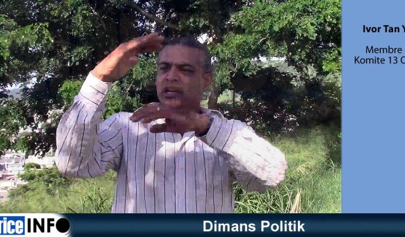 Dimans Politik Ivor Tan yan Komite 13 Oktob