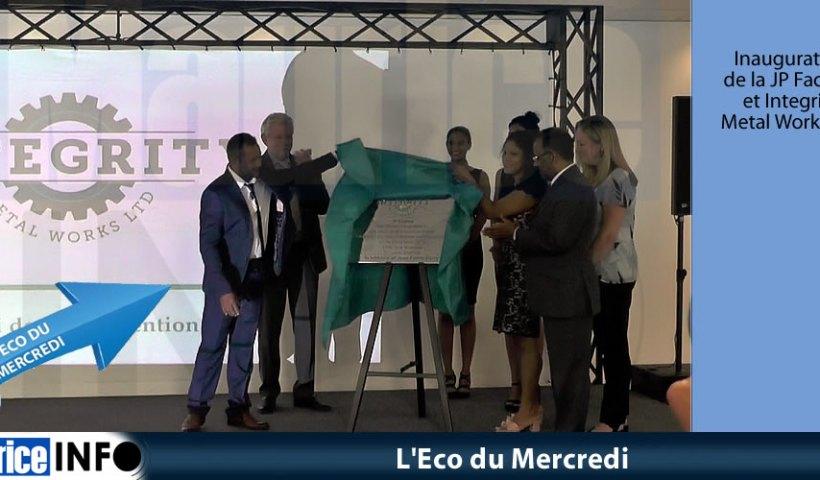 Eco du Mercredi JP Factory - Integrity Metal Works Ltd
