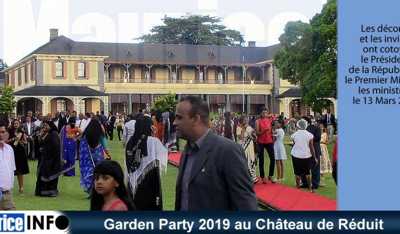 Garden Party 2019 au Château de Réduit