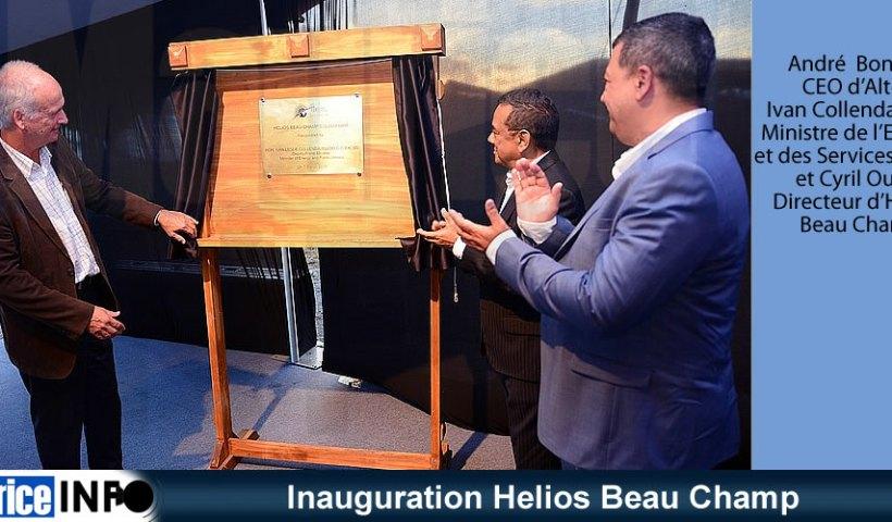 Inauguration Helios Beau Champ