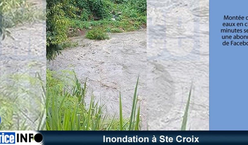 Inondation à Ste Croix
