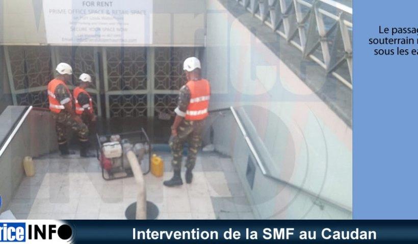 Intervention de la SMF au Caudan