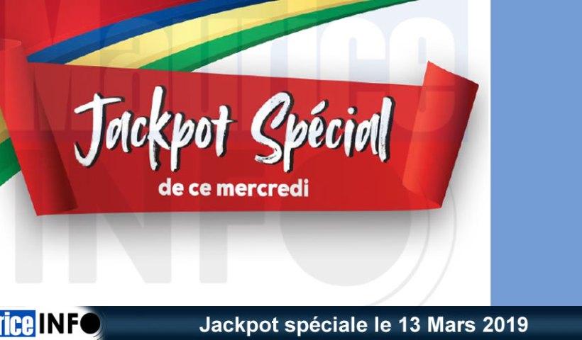 Jackpot spéciale le 13 Mars 2019