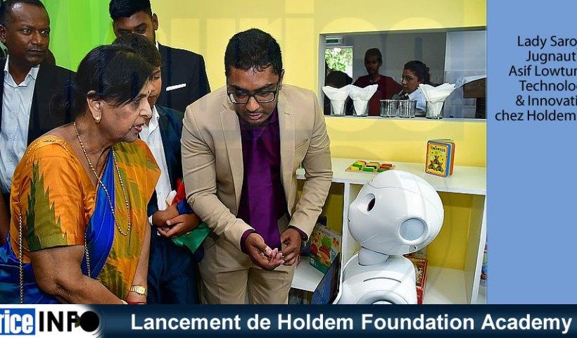 Lancement de Holdem Foundation Academy