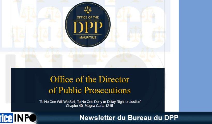 Newsletter du Bureau du DPP