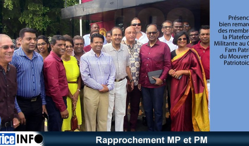 Rapprochement MP et PM