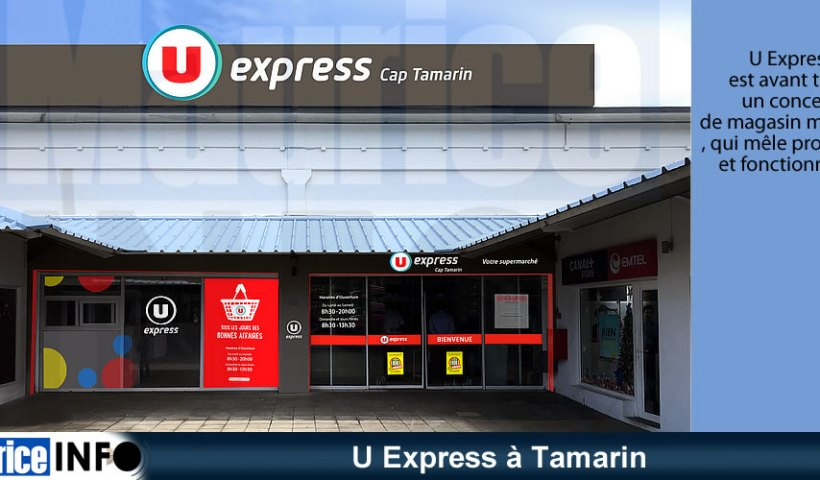 U Express à Tamarin